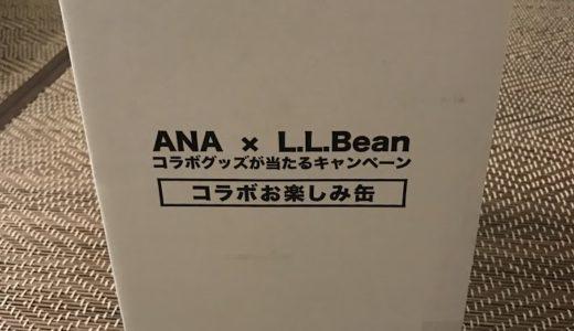 ANA×L.L.Beanコラボグッズが当選しました