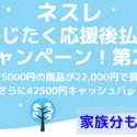 ネスレ 冬じたく応援後払いキャンペーン!で42,500pts+コーヒー75000円分もらえるチャンス